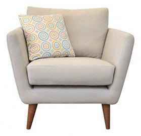 Fizz Nantucket Chair, Fabric - Light Grey