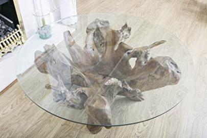 Reclaimed Teak Root Coffee Table