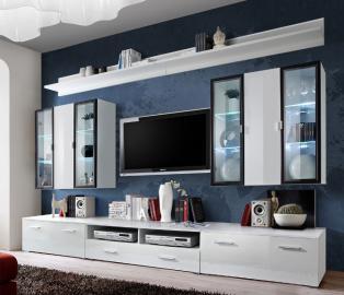 Malmo 1 - High gloss entertainment center