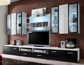Malmo 4 - wall entertainment center