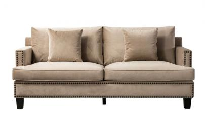 Brunswick Three Seat Sofa - Taupe