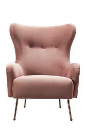 Claridge Armchair Blush Pink