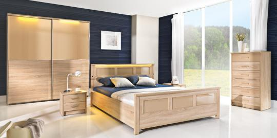 Cremona - oak sonoma bedroom set