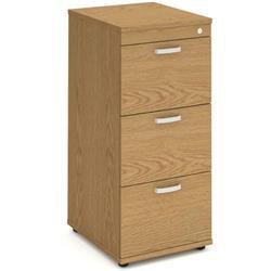 Impulse Filing Cabinet 3 Drawer Oak - I000781