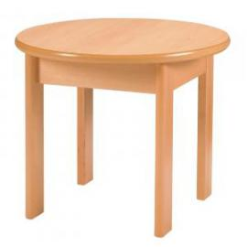 Dams Circular Solid Beech Coffee Table 610 x 510mm Beech