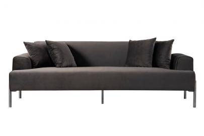 Duke Three Seat Sofa - Carbon