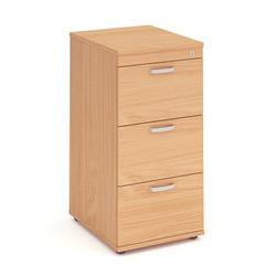 Impulse Filing Cabinet 3 Drawer Beech - I000073