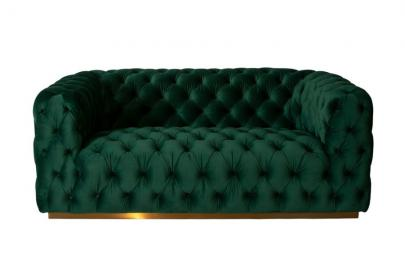 Frankfurt Two Seat Sofa – Bottle Green