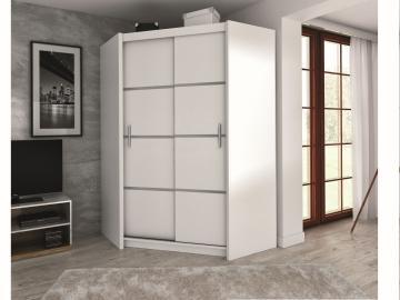 Vezon corner wardrobe