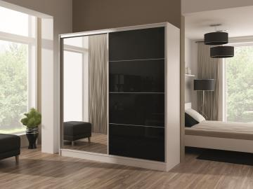 Widnes 203 - white wardrobe closet
