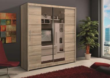 Soho II - oak sonoma wardrobe furniture