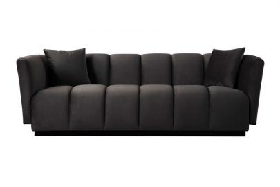 Herbie Three Seat Sofa - Carbon