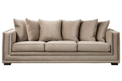 Holburn Three Seat Sofa  - Taupe
