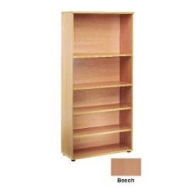 Jemini 4 Shelf Beech 2000mm Bookcase KF838415
