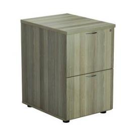 Jemini Grey Oak 2 Drawer Filing Cabinet Dimensions W465 x D600 x