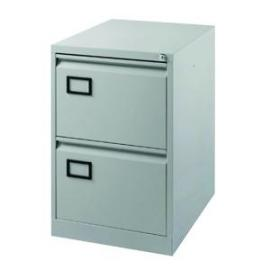 Jemini Light Grey 2 Drawer Filing Cabinet Dimensions W470 x D622 x