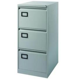 Jemini Light Grey 3 Drawer Filing Cabinet Dimensions W470 x D622 x
