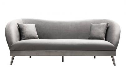 Lapio Three Seat Sofa - Dove grey