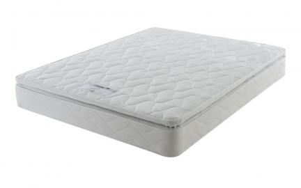 Layezee Comfort Pillow Top Mattress, Single