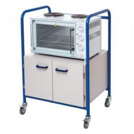 Mini Cooker Trolley with Cupboard