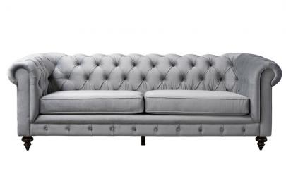 Monty Three Seat Sofa – Dove Grey