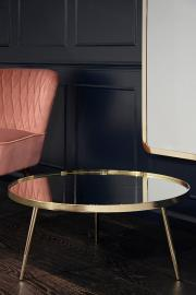 Panatella Brass Coffee Table