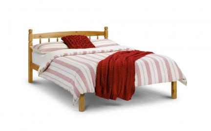 Pickwick Wooden Bed Frame, Small Double