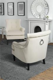 Positano Lounge Armchair - Cream