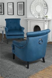 Positano Lounge Armchair - Wedgewood Blue