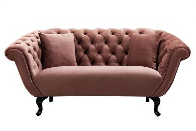 Ramona Two Seat Sofa - Blush Pink