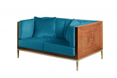 Ravello Two Seat Sofa - Teal