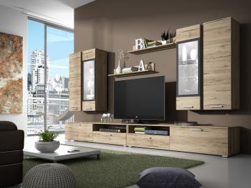 Sarah 1 - big modern entertainment center