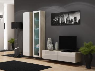 Seattle D5 - oak entertainment center cabinet
