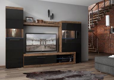 Sicily 100 - modern tv stand with storage