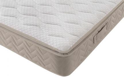 Silentnight Helsinki Miracoil Geltex Pillow Top Mattress, Single