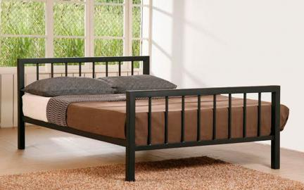 Time Living Metro Metal Bed Frame, Double