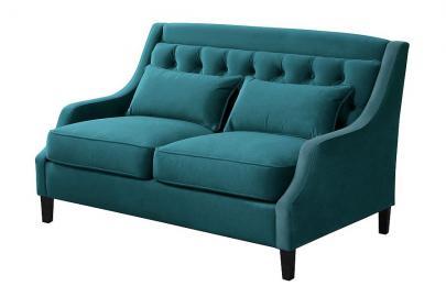 Zeno 2 seat Sofa Opulence Teal