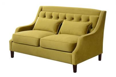 Zeno 2 seat Sofa Lime