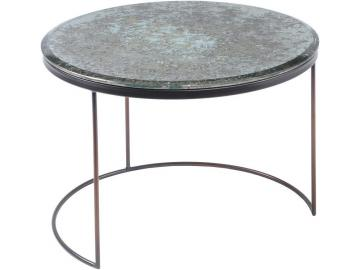 Vitrio Mottled Glass Top Coffee Table