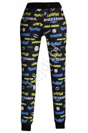 Spodnie dresowe loga bohaterów | hero logos - Lejdi