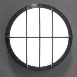 Applique LED SUN 8, alu moulé, 13 W 4 k