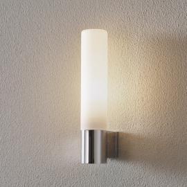 Applique pour salle de bains avec verre blanc