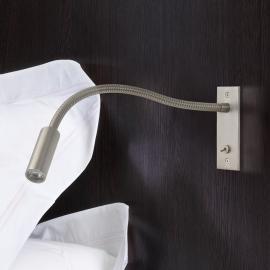 Applique encastrable LED Leo Switched, bras flex