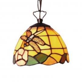 Suspension décorative LIBELLE style Tiffany