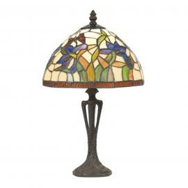 Lampe à poser ELANDA style Tiffany 41 cm