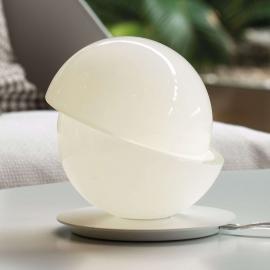 Belle lampe à poser en verre avec LED Aibu