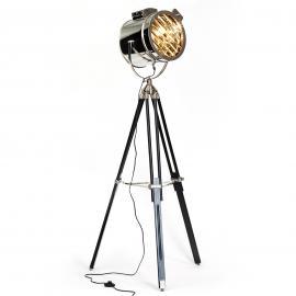 Ciné - lampadaire au design de projecteur