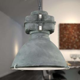 Anouk - suspension vintage avec diffuseur en verre