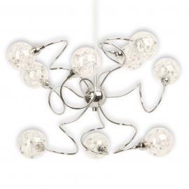 Joya - suspension à neuf lampes qui a du peps