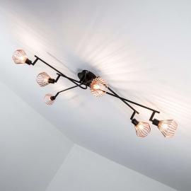Plafonnier tendance Dalma - 6 lampes